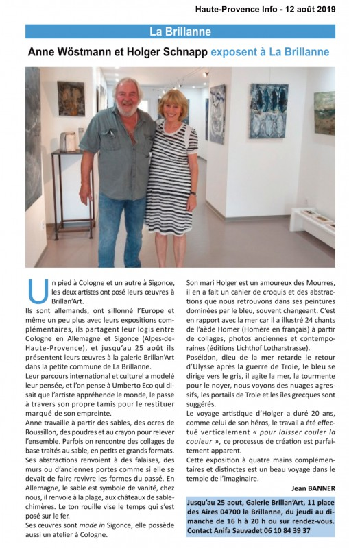 Artikel La Brillane