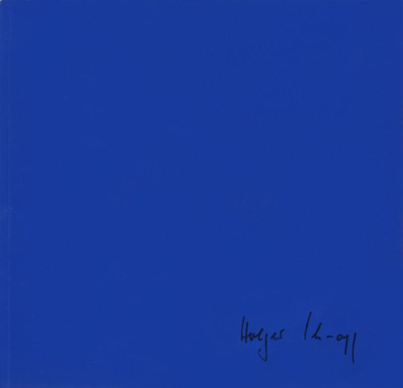 """""""Neuere Arbeiten"""" mit Texten von Daghild Barrels und Jean-Marie Gleize, Genf/Evian 1993"""